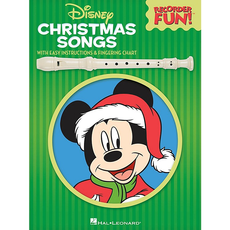 Hal LeonardDisney Christmas Songs Recorder Series Softcover