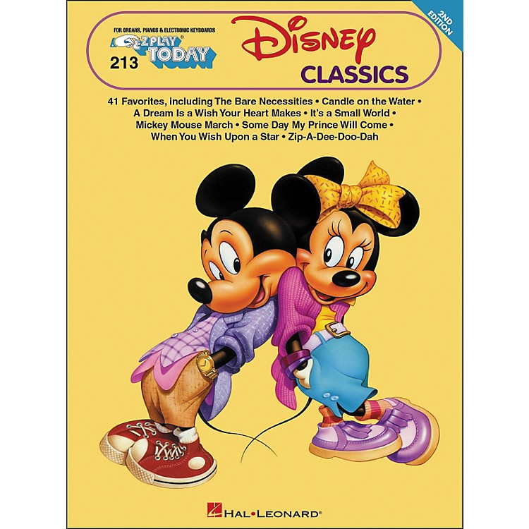 Hal LeonardDisney Classics 2nd Edition E-Z Play 213
