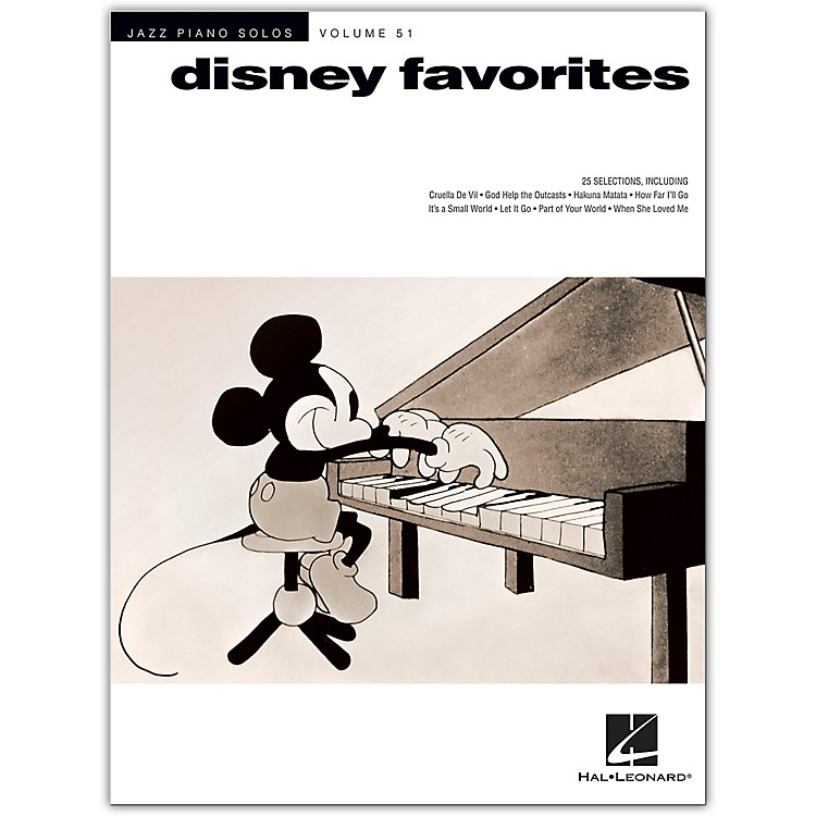 Hal Leonard Disney Favorites - Jazz Piano Solos Series Volume 51