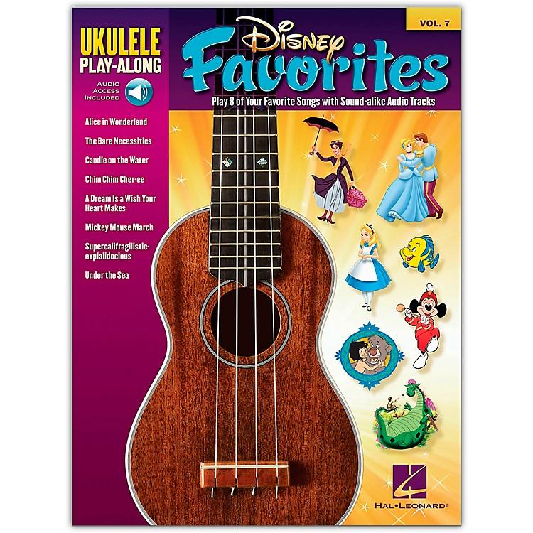 Hal LeonardDisney Favorites - Ukulele Play-Along Vol. 7 Book/CD