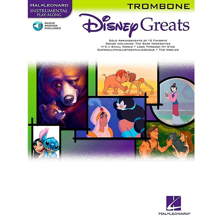 Hal LeonardDisney Greats for Trombone Book/CD Instrumental Play-Along