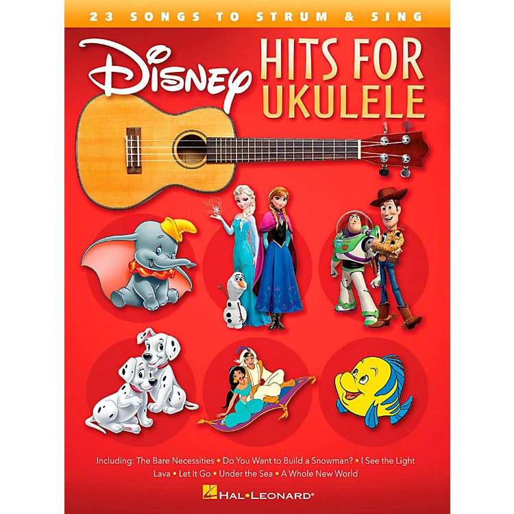 Hal Leonard Disney Hits for Ukulele - 23 Songs to Strum & Sing
