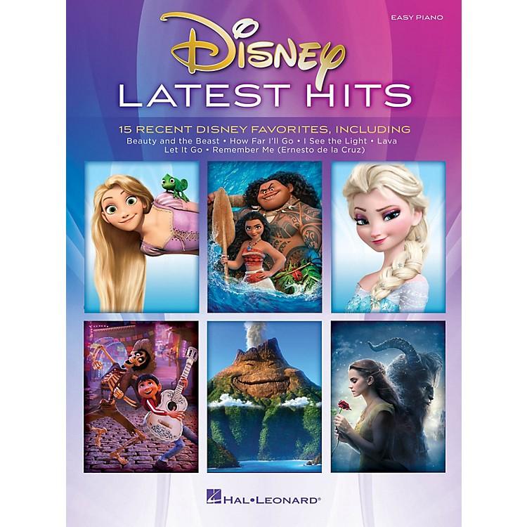 Hal LeonardDisney Latest Hits (15 Recent Disney Favorites) Easy Piano Songbook