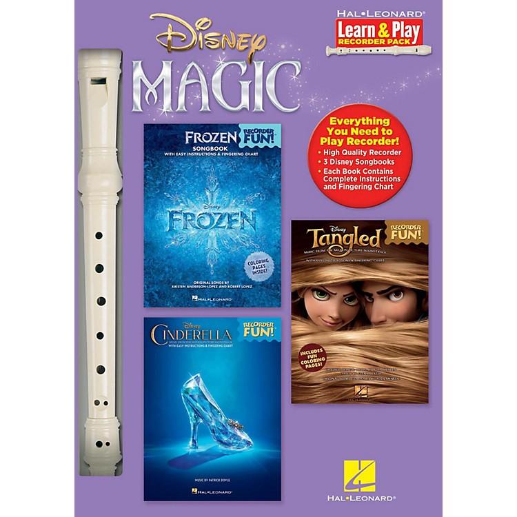 Hal LeonardDisney Magic - Learn & Play Recorder Pack includes Frozen/Tangled/Cinderella/Recorder