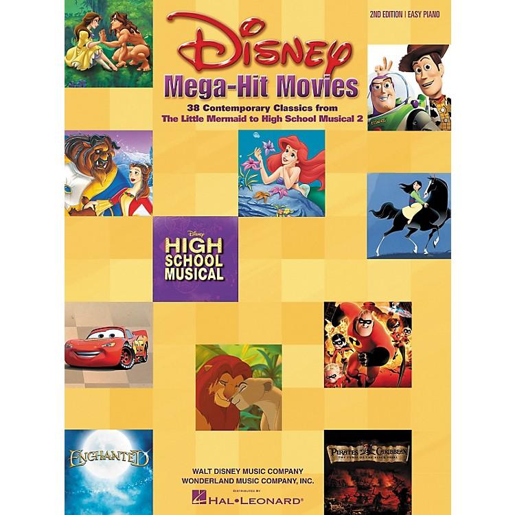 Hal LeonardDisney Mega-Hit Movies For Easy Piano