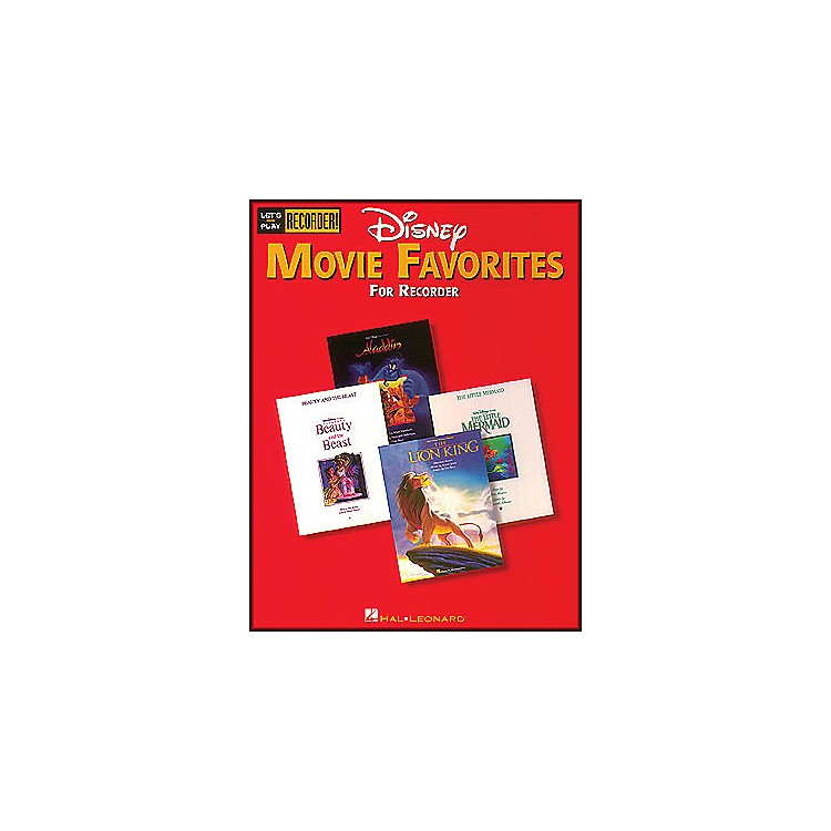 Hal LeonardDisney Movie Favorites Let's Play Recorder!