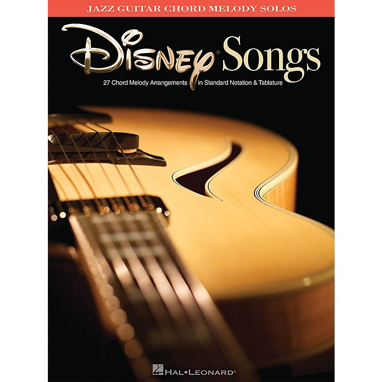 Hal LeonardDisney Songs (Jazz Guitar Chord Melody Solos) Guitar Solo Series Softcover