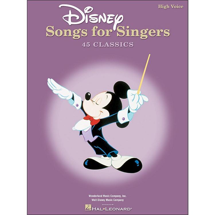 Hal LeonardDisney Songs for Singers for High Voice