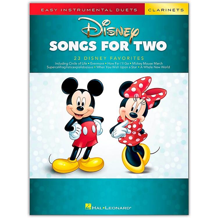 Hal LeonardDisney Songs for Two Clarinets - Easy Instrumental Duets Series Songbook