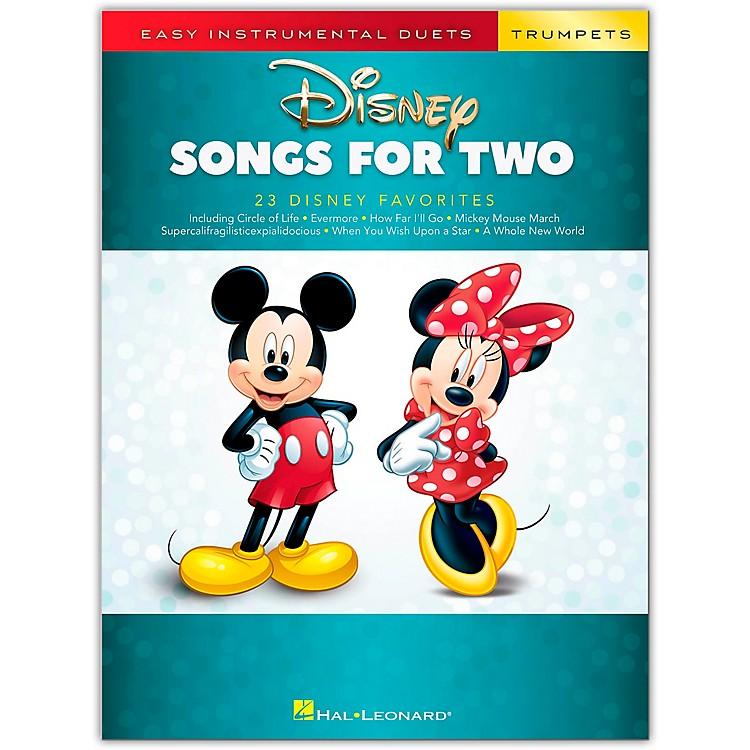 Hal LeonardDisney Songs for Two Trumpets - Easy Instrumental Duets Series Songbook