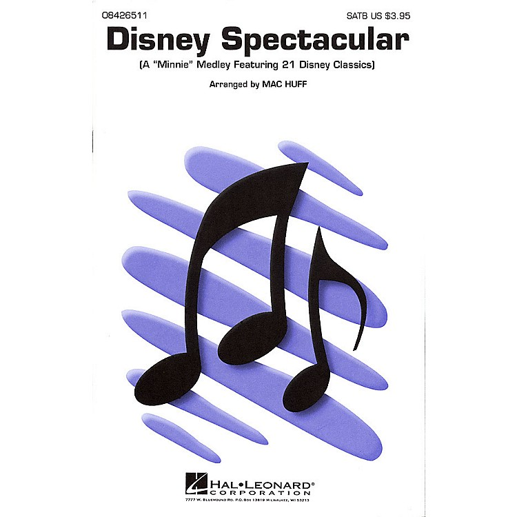 Hal Leonard Disney Spectacular (Medley) ShowTrax CD Arranged by Mac Huff
