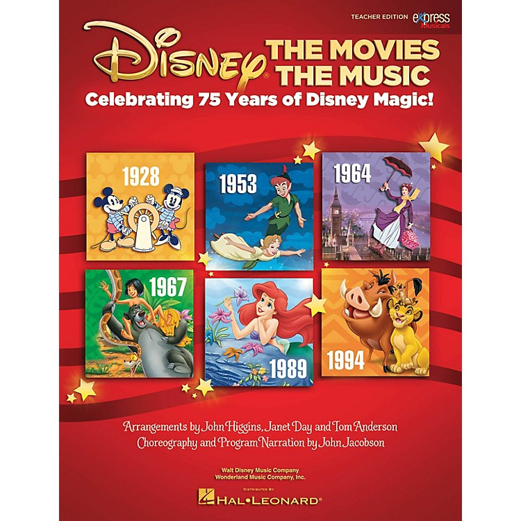 Hal Leonard Disney: The Movies The Music Performance/Accompaniment CD Arranged by John Higgins