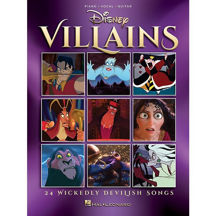 Hal LeonardDisney Villains (24 Wickedly Devilish Songs) Piano/Vocal/Guitar Songbook