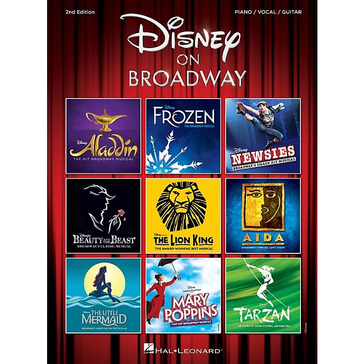 Hal LeonardDisney on Broadway - 2nd Edition Piano/Vocal/Guitar Songbook