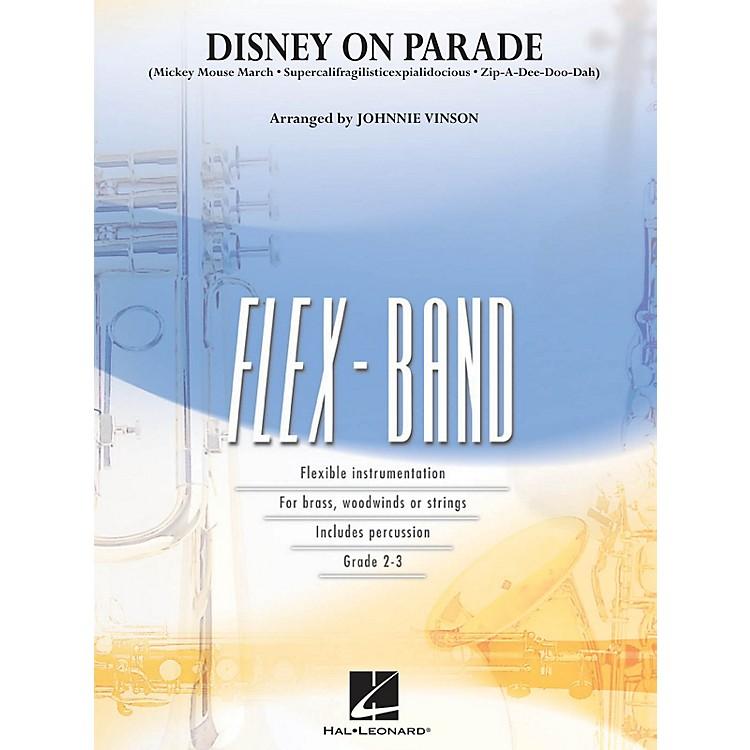 Hal LeonardDisney on Parade Concert Band Level 2-3 Arranged by Johnnie Vinson