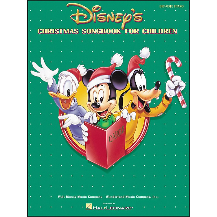 Hal Leonard Disney's Christmas Songbook for Children for Big Note Piano