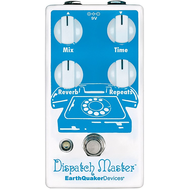 EarthQuaker DevicesDispatch Master V3 Digital Delay and Reverb Effects Pedal