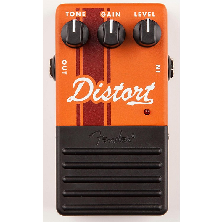 Fender Distort Guitar Effects Pedal