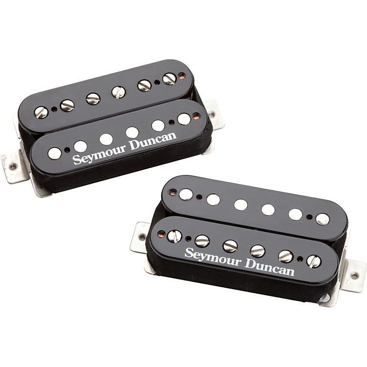 Seymour Duncan Distortion Mayhem SH-6 Humbucker Pair Black
