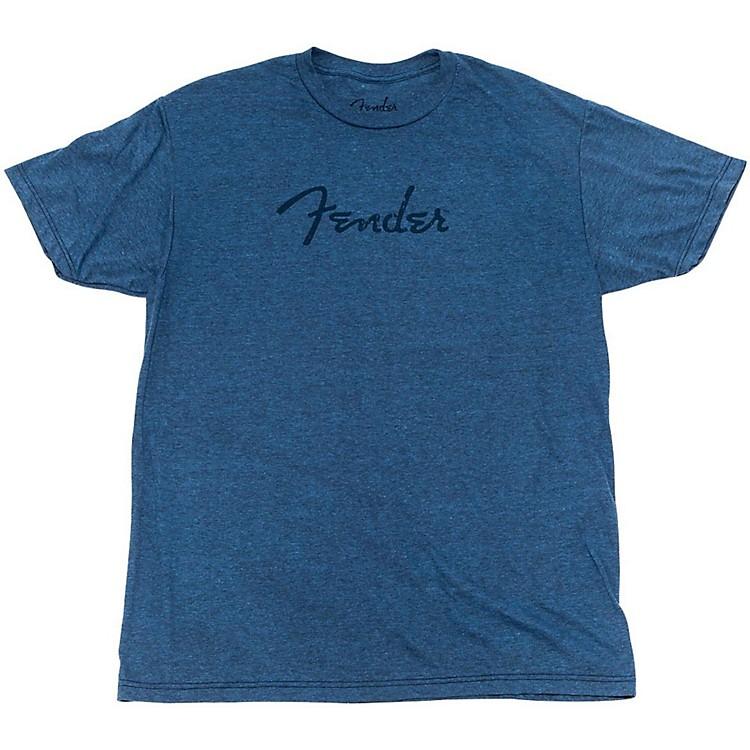 FenderDistressed Logo Premium T-ShirtSmallIndigo Blue