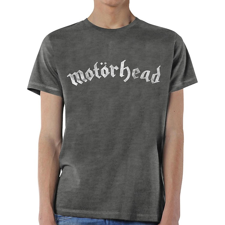 Motorhead Distressed Logo T-Shirt X Large Gray