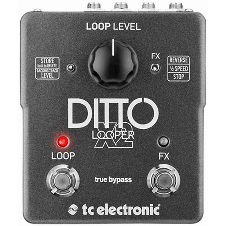 TC Electronic Ditto X2 Looper Effects Pedal  888365824901