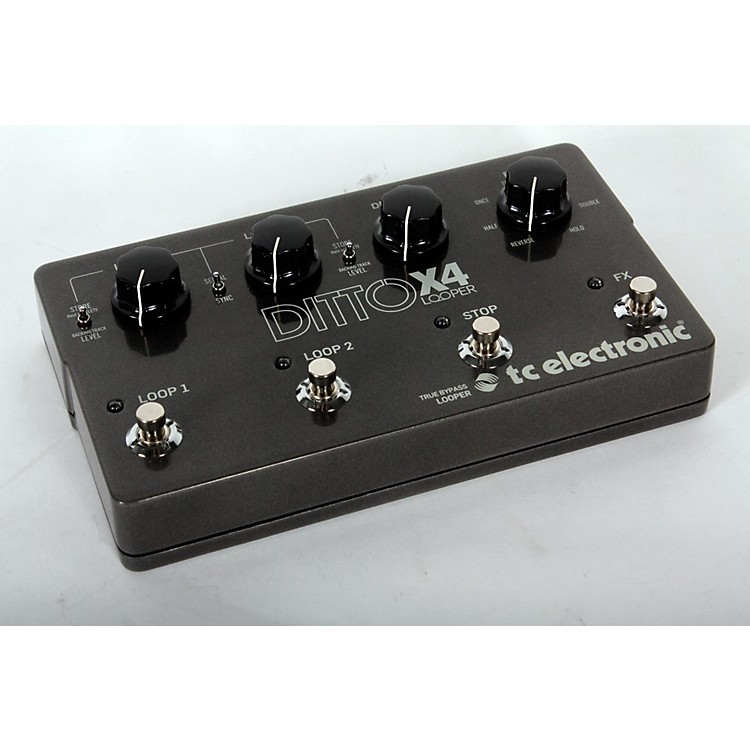 TC ElectronicDitto X4 Looper Effects Pedal888365901688