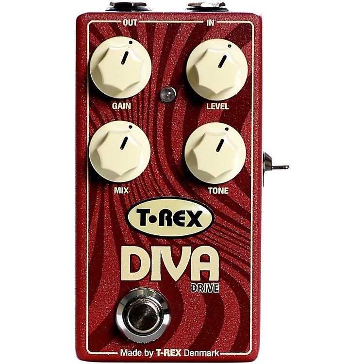 T-Rex EngineeringDiva Overdrive Guitar Effects Pedal