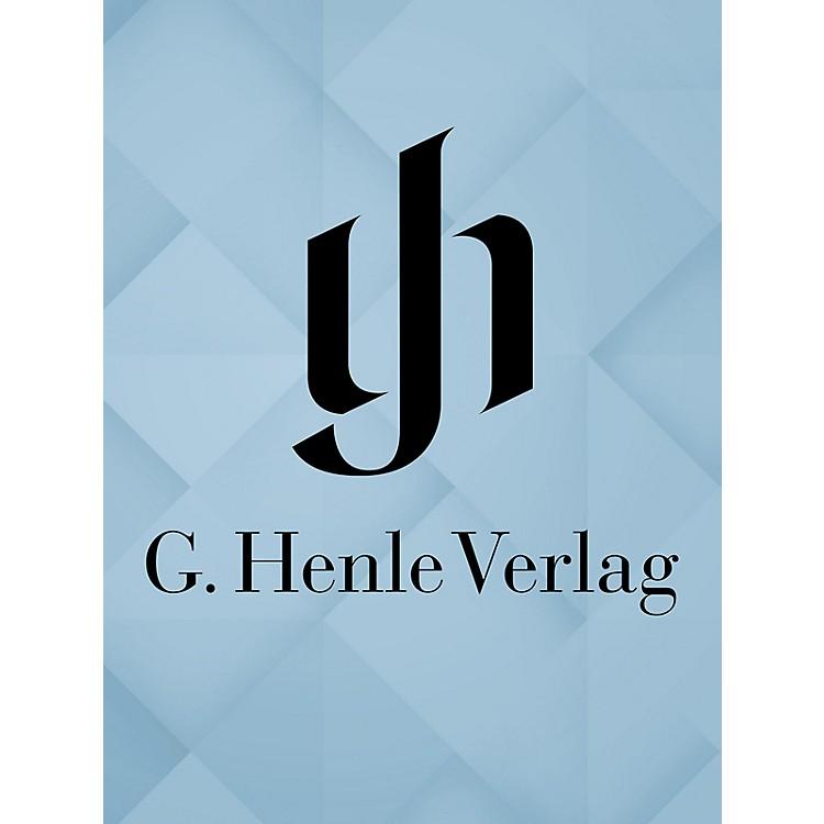 G. Henle VerlagDivertimenti for Wind Instruments - Six Scherzandi (Sinfonias) fragment E flat Henle Edition Softcover