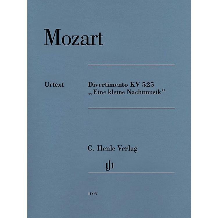 G. Henle VerlagDivertimento K525 Eine kleine Nachtmusik Henle Music by Mozart Edited by Wolf-Dieter Seiffert