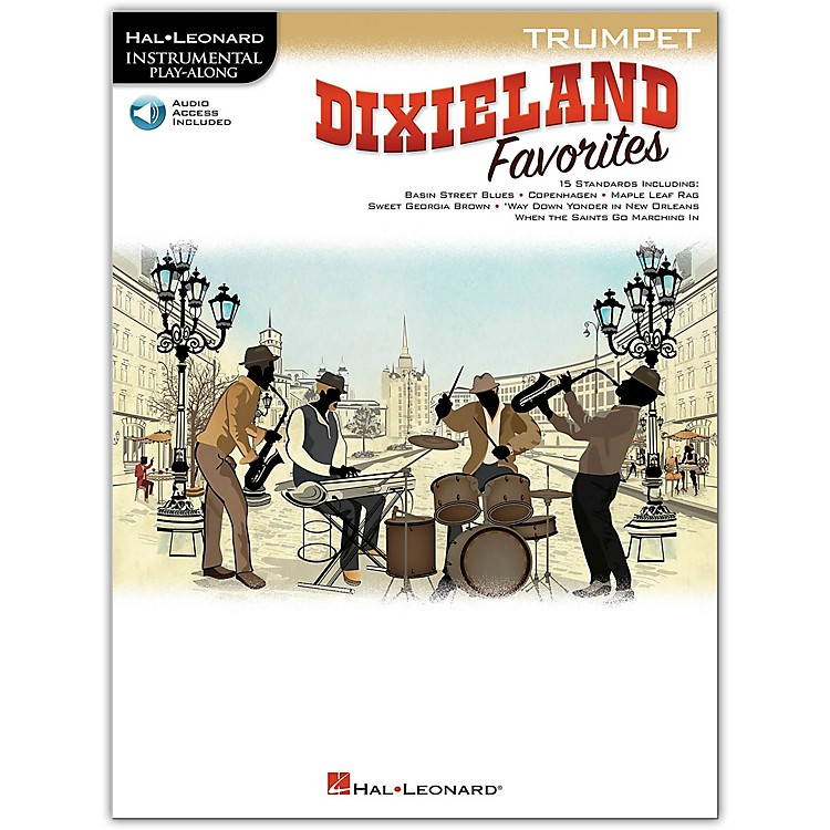 Hal Leonard Dixieland Favorites for Trumpet Instrumental Play-Along Book/Audio Online
