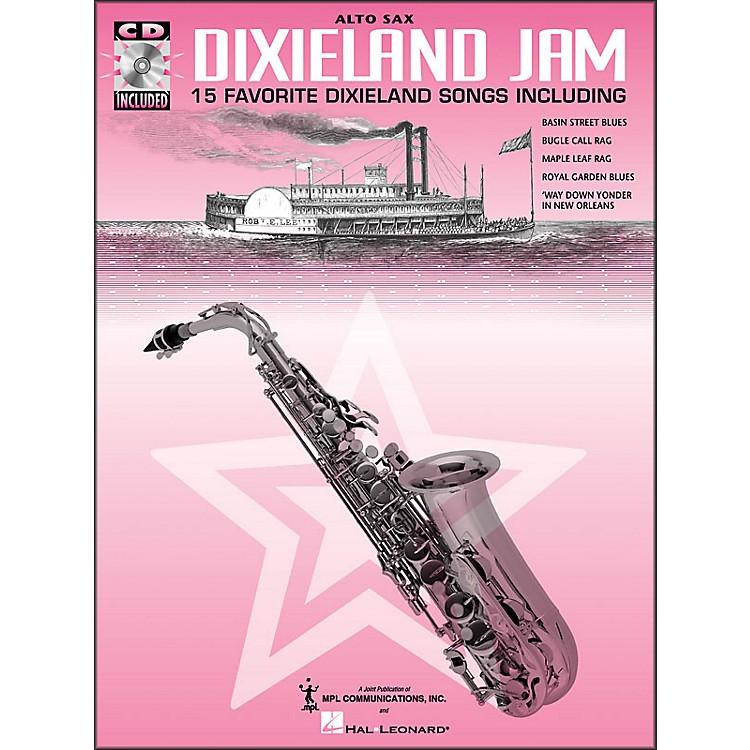 Hal LeonardDixieland Jam - 15 Favorite Dixieland Songs for Alto Sax Book/CD Pkg