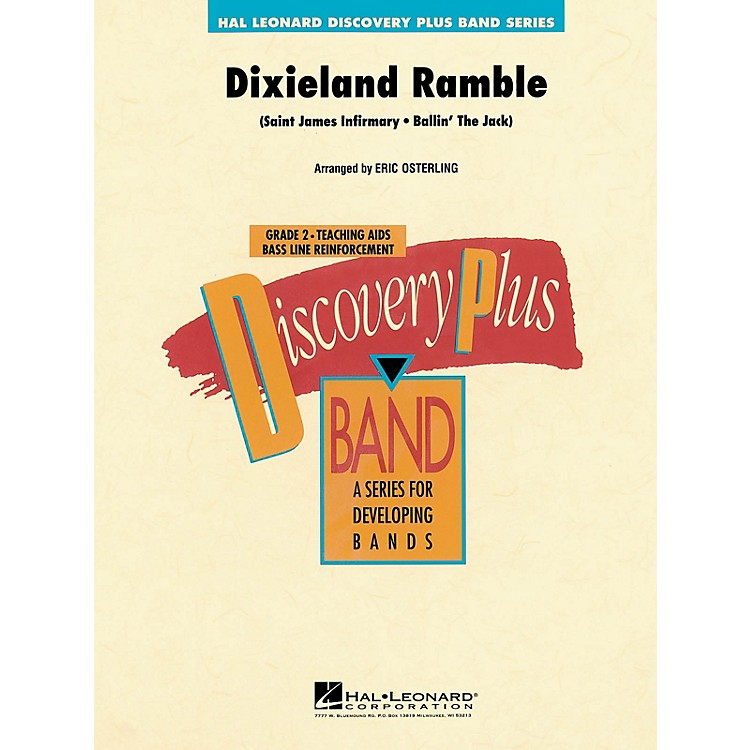 Hal LeonardDixieland Ramble - Discovery Plus Concert Band Series Level 2 composed by Eric Osterling