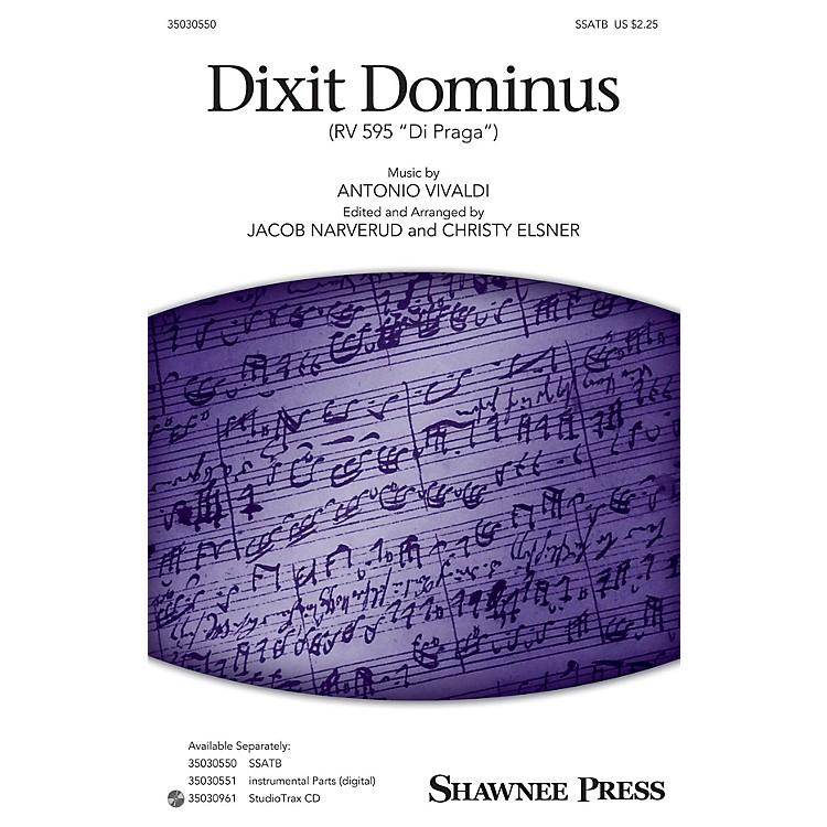 Shawnee PressDixit Dominus (StudioTrax CD) Studiotrax CD Arranged by Jacob Narverud