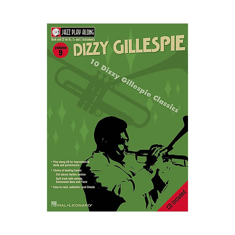 Hal LeonardDizzy Gillespie - Jazz Play Along Volume 9 Book with CD