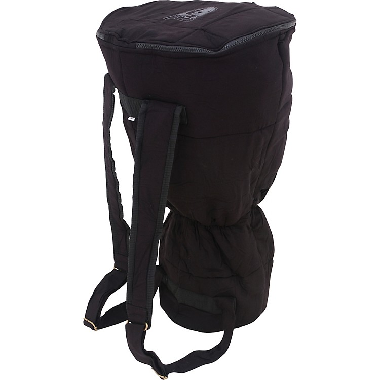 TocaDjembe Bag and Shoulder Harness12 in.Black