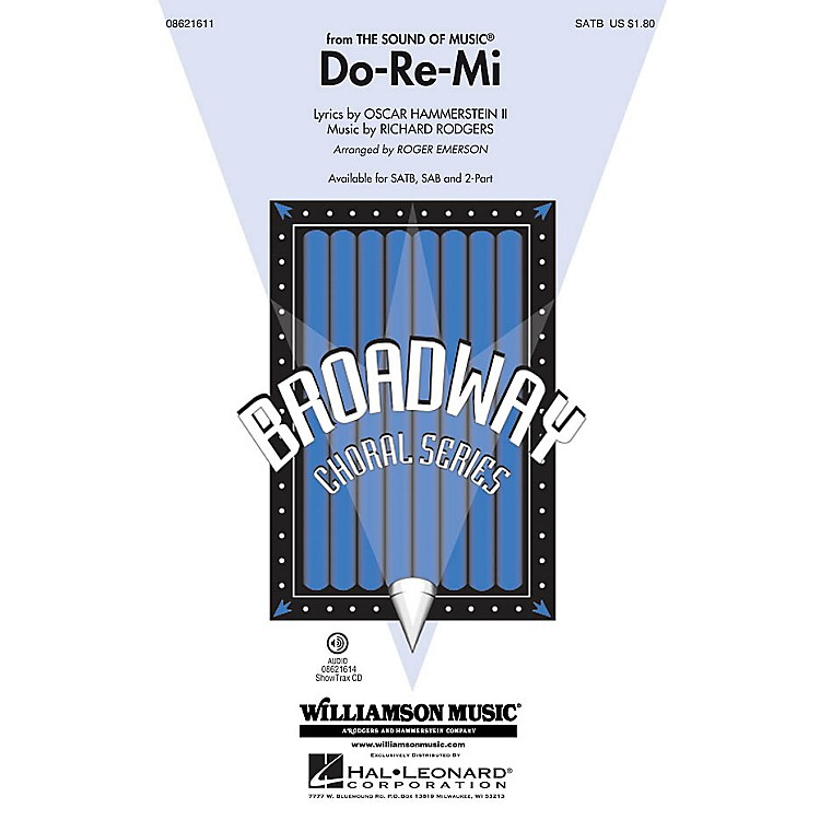Hal Leonard Do-Re-Mi (from The Sound of Music) SATB arranged by Roger Emerson