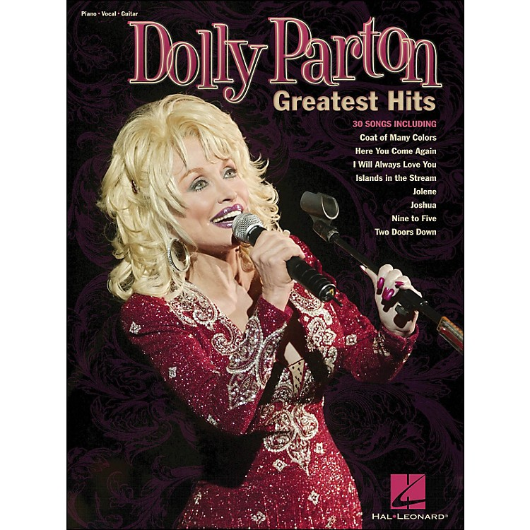 Hal LeonardDolly Parton - Greatest Hits arranged for piano, vocal, and guitar (P/V/G)