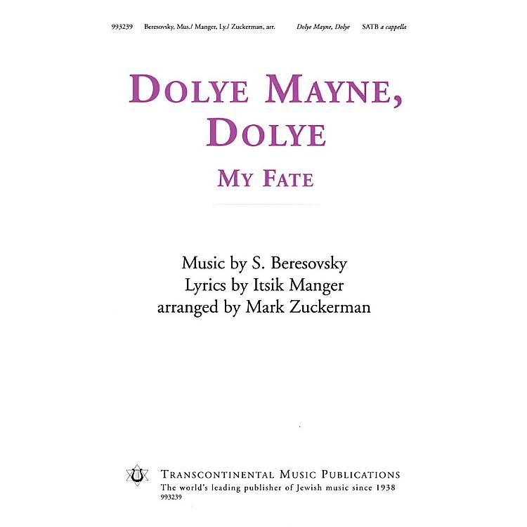 Transcontinental MusicDolye Mayne, Dolye (My Fate) SATB a cappella arranged by Mark Zuckerman