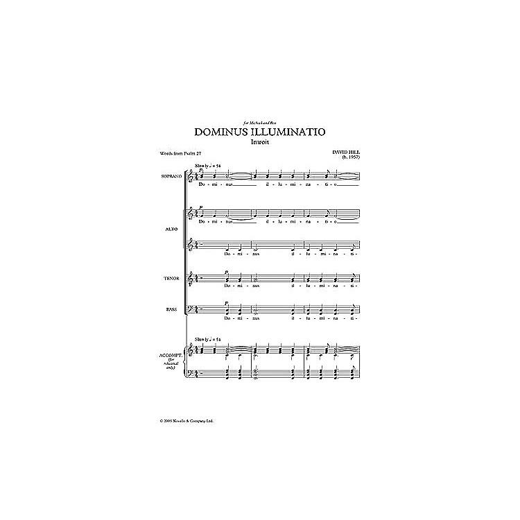 NovelloDominus Illuminatio SATB Composed by David Hill