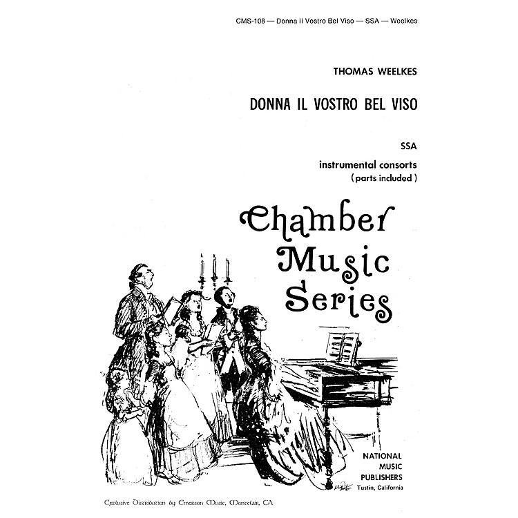 Hal LeonardDonna Il Vostro Bel Viso SSA composed by Robert Carl