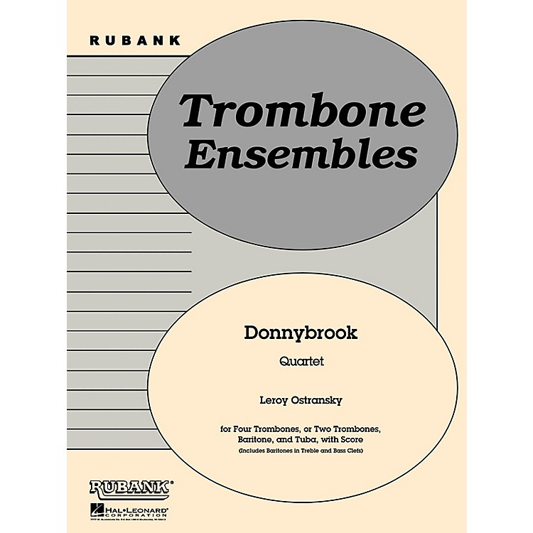 Rubank PublicationsDonnybrook (Trombone or Brass Quartet - Grade 2) Rubank Solo/Ensemble Sheet Series