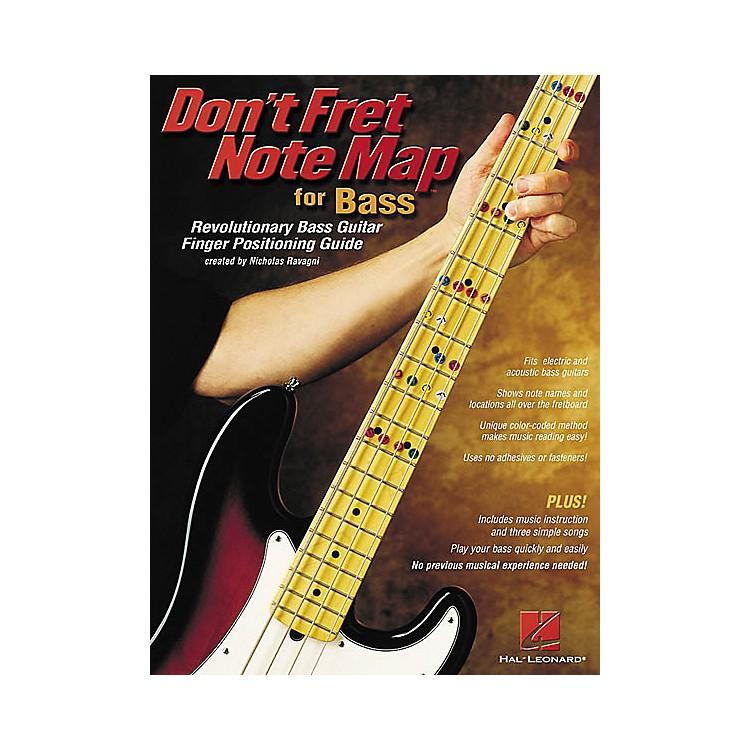 Hal LeonardDon't Fret Note Map for Bass Book