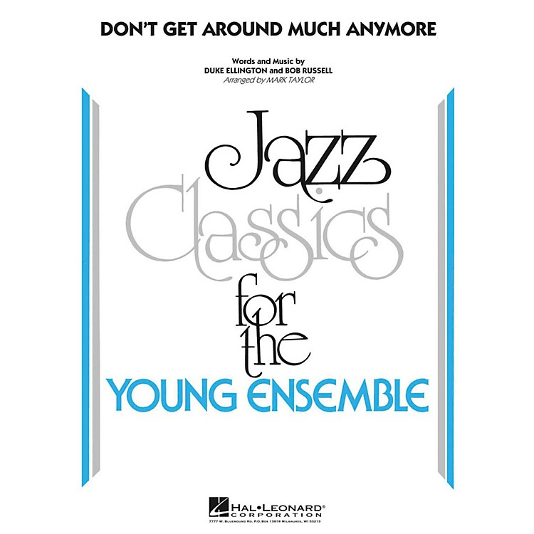 Hal Leonard Don't Get Around Much Anymore - Young Jazz Classics Level 3