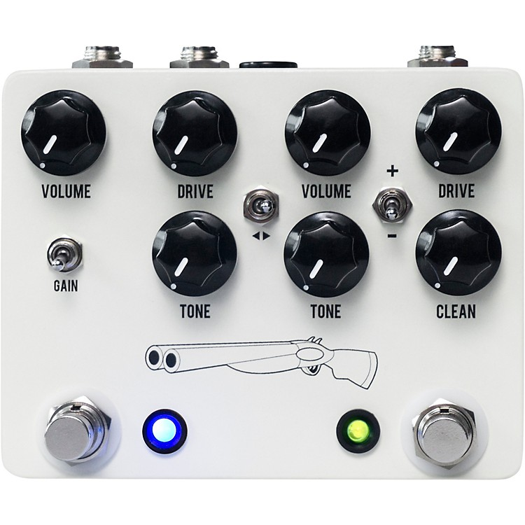 JHS PedalsDouble Barrel V4 Overdrive Effects Pedal