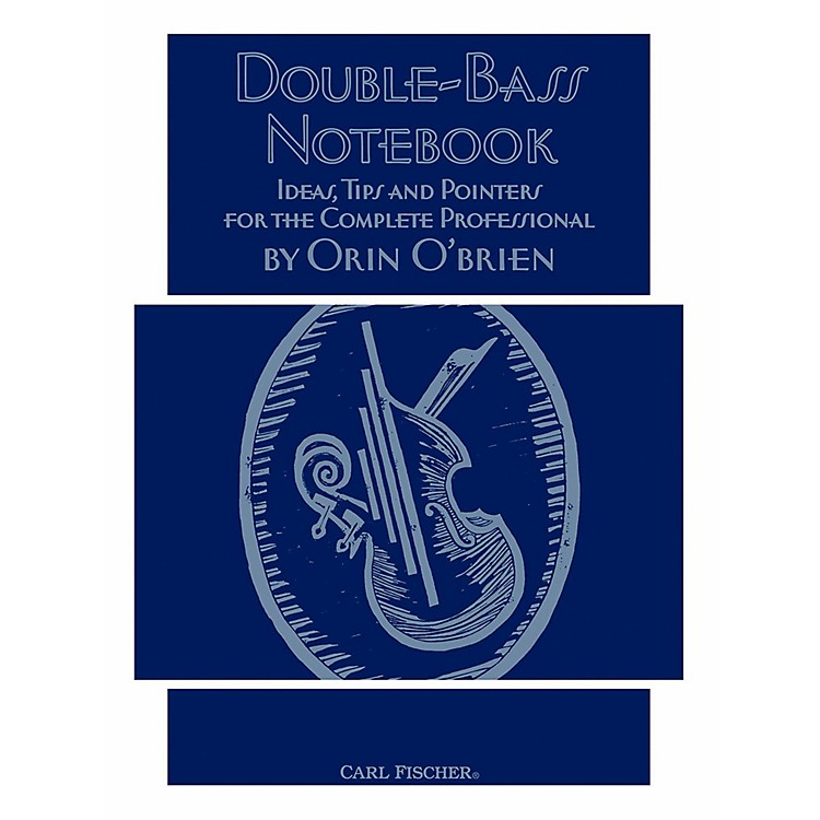 Carl Fischer Double Bass Notebook