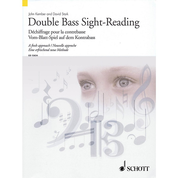 Schott Double Bass Sight-Reading - A Fresh Approach String Series Softcover Written by John Kember