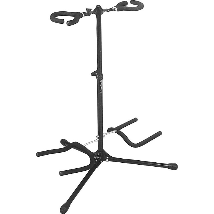 On-Stage Double Flip It Guitar Stand Black