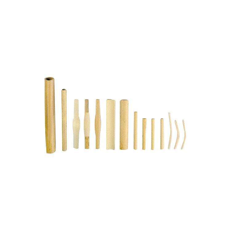 VandorenDouble Reed CaneOboe - Gouged / Shaped, Medium  (10 Pcs)