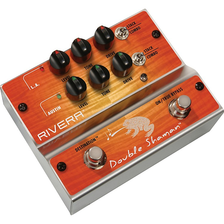 RiveraDouble Shaman Overdrive Guitar Effects Pedal